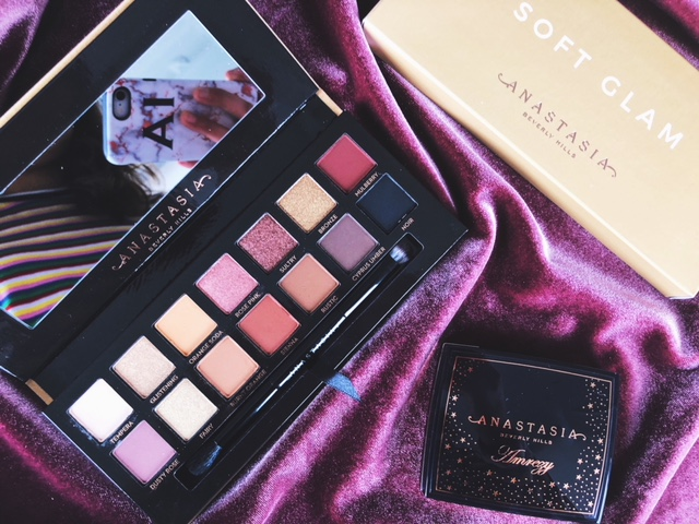 Reviewing the Anastasia Beverly Hills X Amrezy Highlighter and Soft Glam Palette