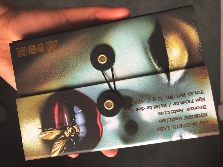 Reviewing the Pat McGrath Labs MTHRSHIP Sublime Bronze Ambition Eyeshadow Palette