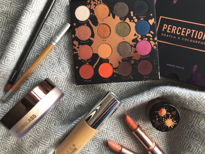 First Impressions: Shayla X ColourPop Collection, Becca Ultimate Coverage Foundation and Hourglass Veil TranslucentPowder