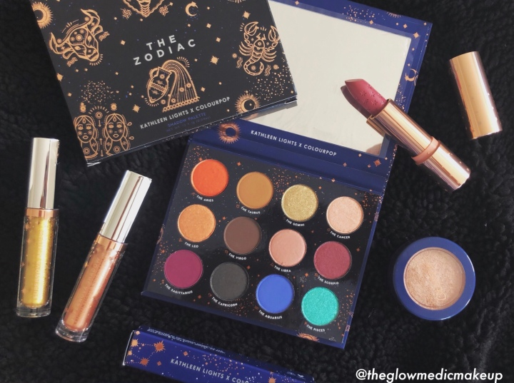 Reviewing the Kathleen Lights X ColourPop Zodiac Collection