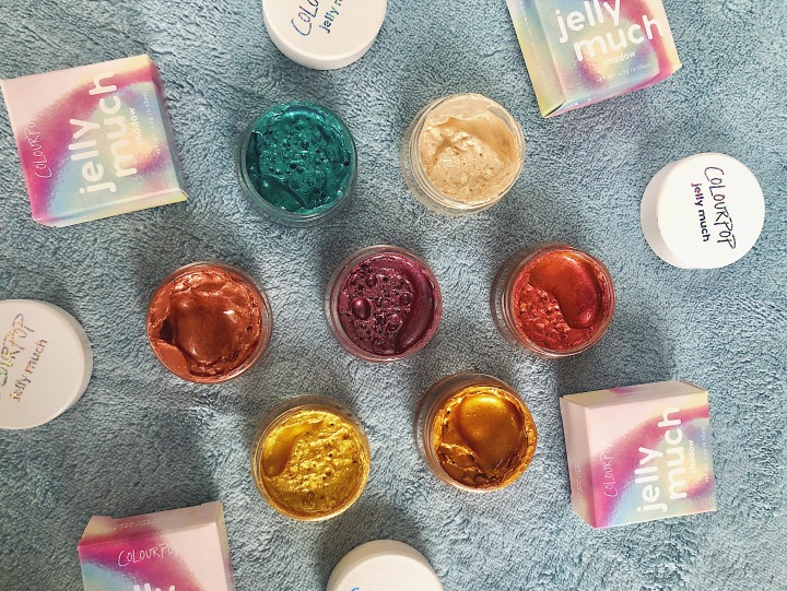 Reviewing the ColourPop Jelly Much Eyeshadows
